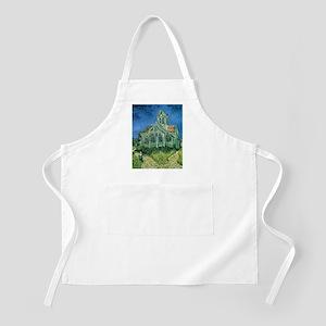 Van Gogh Church Auvers Apron