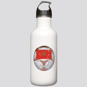 Morocco Soccer Stainless Water Bottle 1.0L