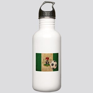 Vintage Nigeria Football Stainless Water Bottle 1.