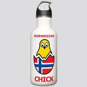 Norwegian Chick Stainless Water Bottle 1.0L