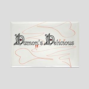 Damon's Delicious Rectangle Magnet