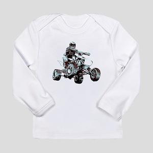 ATV Racing Long Sleeve Infant T-Shirt