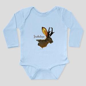 Jackalope Long Sleeve Infant Bodysuit