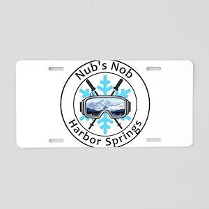 Nub's Nob - Harbor Spring Aluminum License Plate