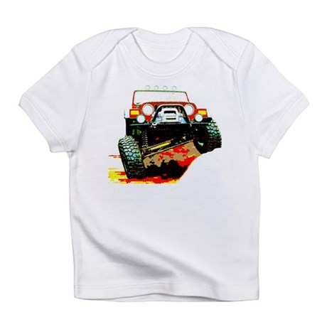 Jeep rock crawling Infant T-Shirt