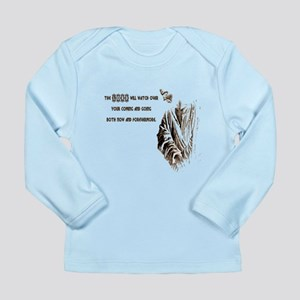 The LORD wil Watch Long Sleeve Infant T-Shirt