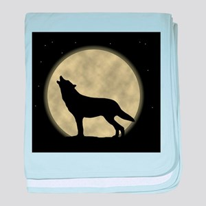 Howling at the Moon baby blanket