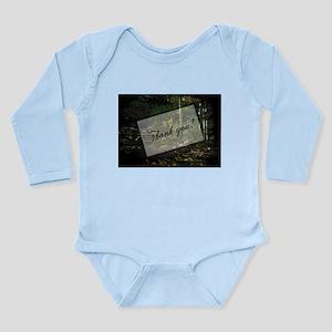 Woodland Path Long Sleeve Infant Bodysuit