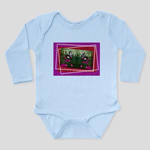 Thank You Butterflies Long Sleeve Infant Bodysuit