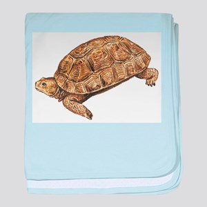 Desert Tortoise baby blanket