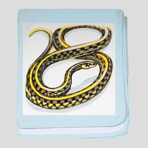 Garter Snake baby blanket
