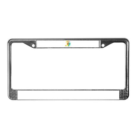 Rex's Turkey License Plate Frame
