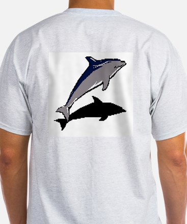 Dolphine's Cove Ash Grey T-Shirt