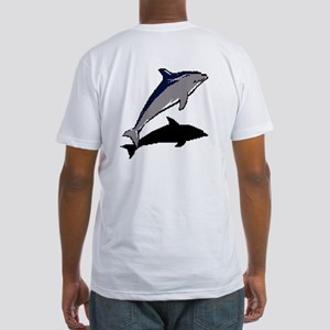 Dolphine's Cove Fitted T-Shirt