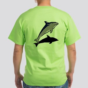 Dolphine's Cove Green T-Shirt