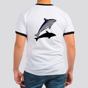 Dolphine's Cove Ringer T