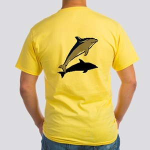 Dolphine's Cove Yellow T-Shirt