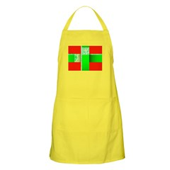 Wrapped Christmas Present Holiday Apron