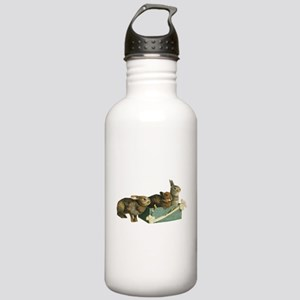 Three Bunnys Stainless Water Bottle 1.0L