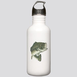 Large Mouth Bass Stainless Water Bottle 1.0L