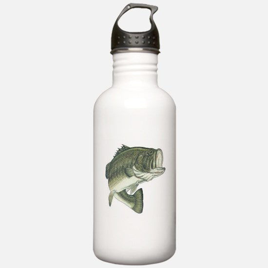 Large Mouth Bass Water Bottle