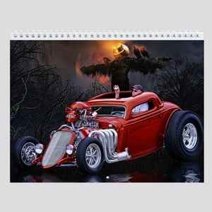 Hot Rod Wall Calendar 1