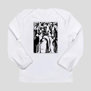 Penquins Long Sleeve Infant T-Shirt