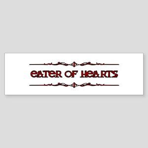 Eater Of Hearts Sticker (Bumper)