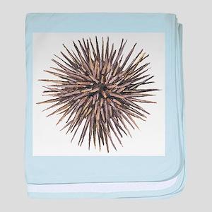 Sea urchin baby blanket
