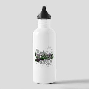Armstrong Tartan Grunge Stainless Water Bottle 1.0