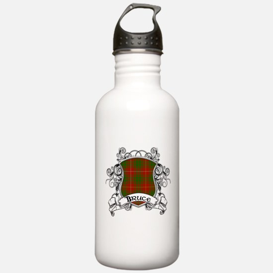Bruce Tartan Shield Water Bottle
