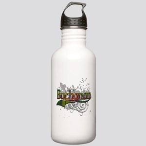 Buchanan Tartan Grunge Stainless Water Bottle 1.0L