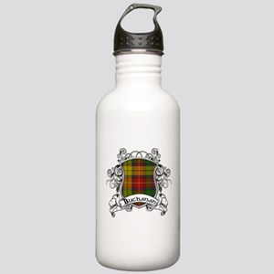 Buchanan Tartan Shield Stainless Water Bottle 1.0L