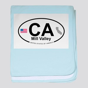 Mill Valley baby blanket