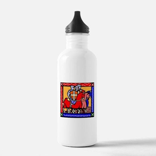 Knights Templar Water Bottle