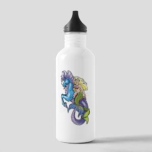 Mermaid & Seahorse Stainless Water Bottle 1.0L