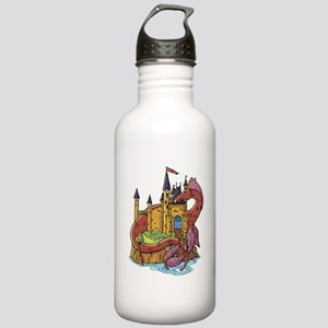 Dragon & Castle Stainless Water Bottle 1.0L