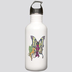 Butterfly Princess Stainless Water Bottle 1.0L