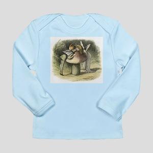 A Fairy Kiss Long Sleeve Infant T-Shirt