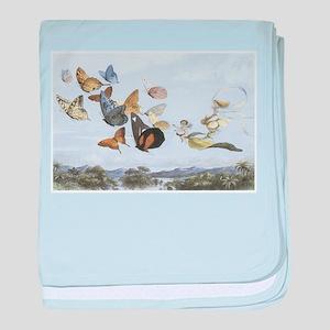 Fairies and Butterflies baby blanket