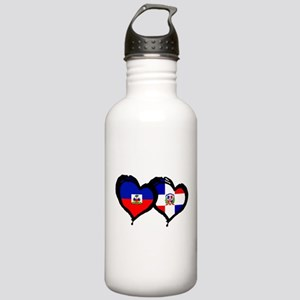 Haiti X Dominican Republic Stainless Water Bottle