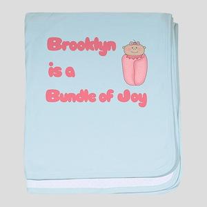 Brooklyn is a Bundle of Joy baby blanket