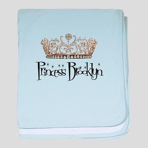 Princess Brooklyn baby blanket