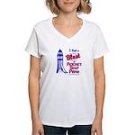 Places Women's V-Neck T-Shirt