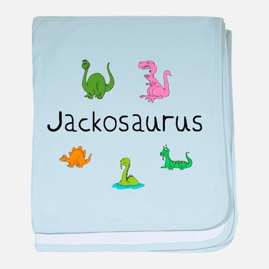 Jacksonosaurus baby blanket