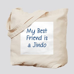 My Best Friend is a Jindo Tote Bag