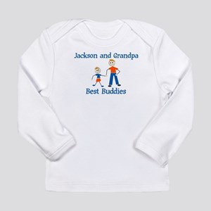 Jackson & Grandpa - Best Budd Long Sleeve Infa