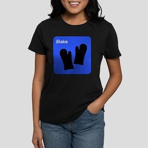 iBake Blue Women's Dark T-Shirt