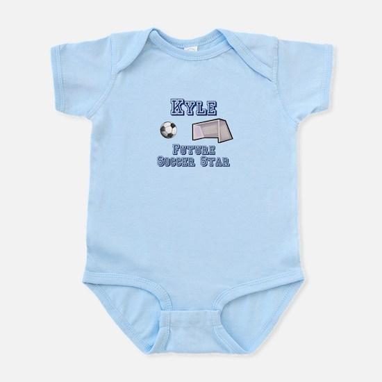 Kyle - Future Soccer Star Infant Bodysuit