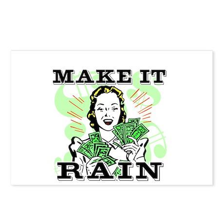 Make It Rain Postcards (Package of 8)
